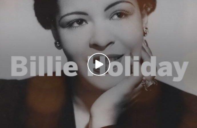 103 Años del Nacimiento de Billie Holiday